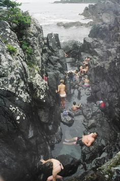 Going here! — Tofino hot springs, Vancouver Island, BC, Canada, Want to go here! Oh The Places You'll Go, Places To Travel, Places To Visit, Vancouver Island, British Columbia, Alaska, Voyage Canada, Just Dream, Canada Travel