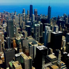 Chicago.  Can't count how many times I visited this awesome city.  Aunt Mary lived on the 58th floor of the John Hancock building.