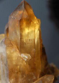 REAL Natural Citrine crystal - (not heated amethyst!) Large Magnificent CITRINE :) www.pixiecrystals.com -x-