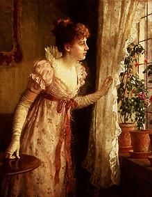 Charles Haigh Wood - A visit is expected.
