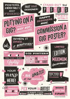 Creative Type, Telegramme, Screen, Gig, and Print image ideas & inspiration on Designspiration Brochure Inspiration, Graphic Design Inspiration, Creative Inspiration, Flyer And Poster Design, Poster Designs, Typography Poster, Gig Poster, Print Layout, Creative Posters