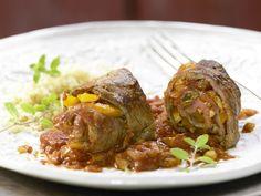 Rouladen auf marokkanische Art - mit Sultaninen und Mandeln - smarter - Kalorien: 511 Kcal - Zeit: 45 Min. | eatsmarter.de