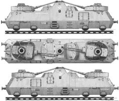 armored train blueprint - Google Search