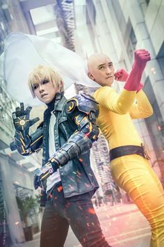 Anime Cosplay,Anime,аниме,Saitama,OnePunchMan,Speed of Sound Sonic,Genos,Tornado of Terror,License-less Rider