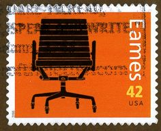 Eames line of stamps for the US Postal Service