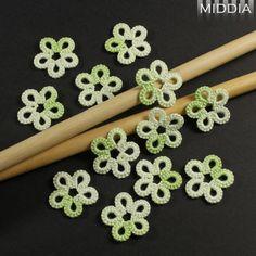Frywolitka szydełkowa: Kwiatki - Just flowers