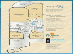 St. Maarten Condominium Daytona Beach Shores, Florida Floor Plan