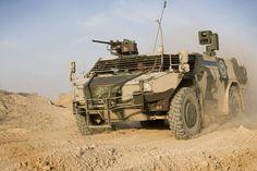 Fennek Light Armored Reconnaissance Vehicle