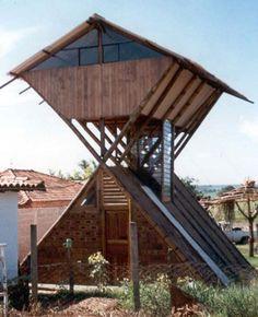 Lecy C. Picorelli - Bioarquitetura e Bioconstrução: Construções incríveis de bambú - Parte I - Colômbia