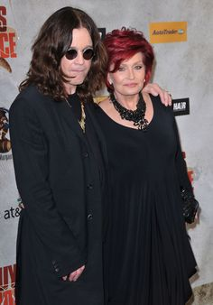 Ozzy Osbourne and Sharon Osbourne have been married for 30 years.