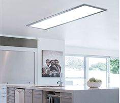 All Details You Need to Know About Home Decoration - Modern Kitchen Ceiling Lights, Led Ceiling Lights, Kitchen Lighting, Panel Led, Led Panel Light, Kitchen Redo, Kitchen Remodel, Kitchen Furniture, Furniture Design
