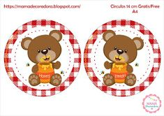 Mamá Decoradora: Kit Imprimible Oso Picnic Family Guy, Teddy Bear, Toys, Animals, Fictional Characters, Digital Invitations, Invitation Cards, Cute Stuff, Activity Toys