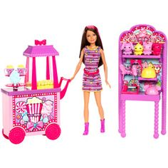 Barbie Sisters' Popcorn & Souvenirs Play Set