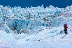 Hiking the Fox Glacier in New Zealand