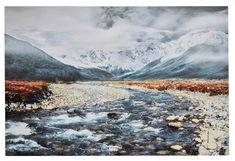 RIVER Canvas bilde 499,- Tropical, River, Mountains, Canvas, Nature, Woman, Tela, Naturaleza, Canvases