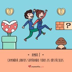 Frases Românticas Dia dos Namorados: veja 68 Mensagens de Amor L Quotes, Couple Quotes, Love Is Sweet, Cute Love, My Love, Caricatures, Hj Story, Phrase Of The Day, Love Post