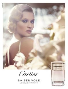 Cartier Baiser Vole--The ad and commercial for this perfume is magical and romantic.
