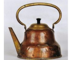 tetera de cobre antigua Metal Nobre, David Gray, Coffee Set, Chocolate Coffee, Kettle, Tea Pots, Copper, Ceramics, Retro