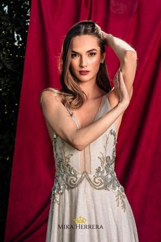 The Angie wedding dress is boho and glam. Every detail has been delicately crafted by our highly skilled team of artisans. Every petal and embroidery has been made with love and joy for you. You Look Stunning, Bridal Wedding Dresses, I Dress, Couture, Bride, Boho, Formal Dresses, Elegant, How To Wear