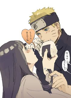 NaruHina: This's so sweet as your hair last night...