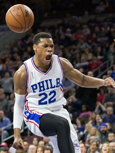 Philadelphia 76ers forward Richaun Holmes reacts after a dunk against the Minnesota Timberwolves during the second half in Philadelphia. The 76ers won 109-99.  Bill Streicher, USA TODAY Sports