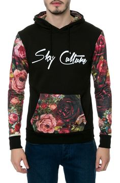 Sky Culture Roses Hoody