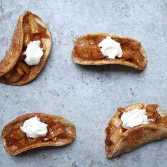 Easy Baked Apple Pie Tacos Recipe | TipBuzz