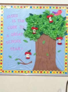 """My version...""""Jesus is the core to a great school year!"""""""