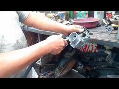 Limpieza de cuerpo aceleración, inyectores, válvula IAC - YouTube
