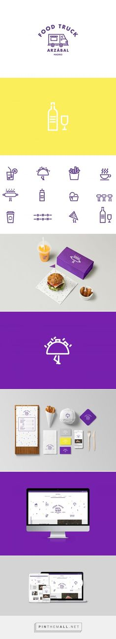 Food Inspiration - The Woork Co  Arzábal Food Truck Branding & Website... - a grouped images picture