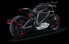 Harley Davidson Unveils The First Electric Motorcycle (Video)
