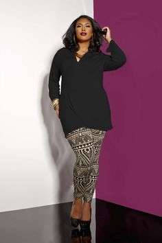ac09e4dc 17 Best Ashley Stewart images | Curvy Fashion, Plus size fashions ...