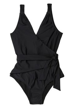 Tie Wrap Swimsuit #r29summerstyle