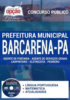 Promoção -  Apostila Concurso Barcarena PA - Vários Cargos  #Aprovado