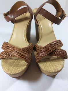 f3da257bbc5 NEW Arizona Jeans Co. Wedge sandals Sz 10M New With Out Box   ArizonaJeansCompany