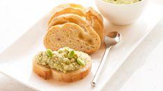 Edamame Hummus Dip - A modern twist on a delicious favourite! Epicure Recipes, Tapas Recipes, Lunch Box Recipes, Quick Dinner Recipes, Paleo Menu, Vegetarian Menu, Gluten Free Menu, Vegan Vegetarian, Dairy Free