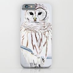 Owl iPhone & iPod Case    IPHONE IPHONE  Protect your iPhone 6s with a unique Society6 phone case featuring wrap around art designed by artists from around the world.  Our Slim Cases are constructed as a one-piece, impact resistant, flexible plastic hard case with a slim profile.   #art #painting #drawing #illustration #decoration #idea #print #sketch #sketchbook #iphone #case #phone #smartphone #artist #tomcii #society6 #youtube #canvas #cool