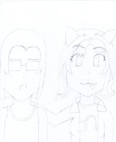 The drawing is almost finished! :DD I didn't add Equius's horns though because I forgot.. :P