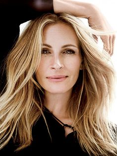 How to Get Julia Roberts's Hair and Makeup From Her Allure Cover Shoot:  Here's the inside scoop on what went into the breezy, bohemian hair and natural makeup look for Roberts's latest Allure October 2015 photo shoot. | allure.com