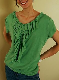 How to Tutorial of Refashioned T-Shirt Ideas | DIY for Life