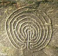 A Bronze Age labyrinth found in Rocky Valley near Boscastle, Cornwall, England. It is a petroglygh of uncertain age. Ancient Mysteries, Ancient Artifacts, Ancient Symbols, Ancient Aliens, Ancient History, European History, American History, Labyrinth Maze, Indigenous Art