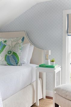 Headboard shapes - headboard directThe headboard shapes everything you see after we can cut. Ready for your cover or we can pad your headboard for youRemodelaholic Blue Bedroom, Bedroom Wall, Bedroom Decor, Wall Decor, Bedroom Ideas, Master Bedroom, Decorating Bedrooms, Blue Rooms, Sofa Design