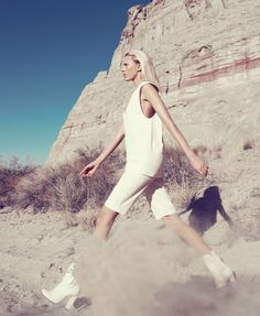 White Clothing Trend - White Clothing Spring 2013 Fashion Editorial - Harper's BAZAAR #HarpersBAZAAR #SpringStyle