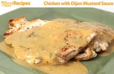 Chicken with Dijon Mustard Sauce - Best Recipes Magazine