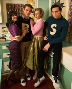 Riverdale Veronica, Archie, Betty and Jughead ❤️❤️ Ep 7