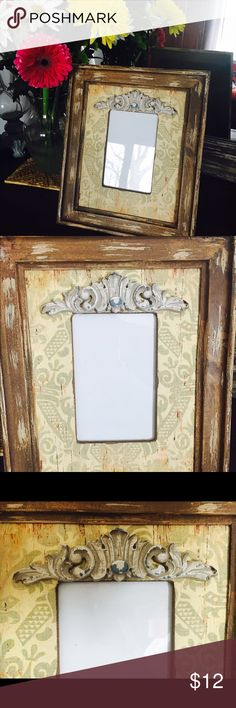 Rustic picture frame Adorable rustic looking picture frame. Fits a 4x6 photo. Never been used. In new condition. Other