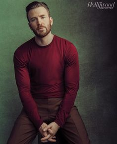 Chris Evans 2019 The Hollywood Reporter Cover Photo Shoot