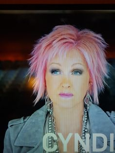 Image Result For Cyndi Lauper Cosentyx Commercial Still