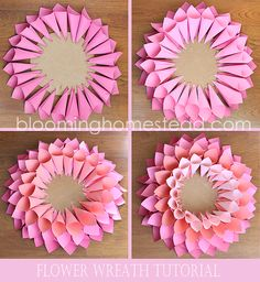 DIY Spring Wreath - Page 2 of 2 - Blooming Homestead