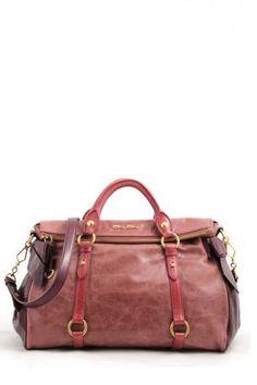 5d124b5f4214 Miu Miu Bag -Vitello Lux Bauletto bag by miu miu antico+ribes- bauletto